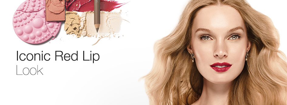 Get the step-by-step application tips for the Iconic Red Look created by Mary Kay Global Makeup Artist Luis Casco